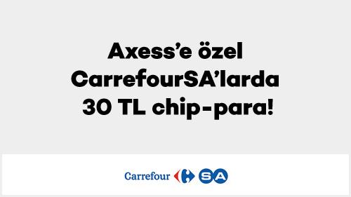 CarrefourSA 30 TL Chip-Para
